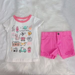 Carter's Little Girl Outfit